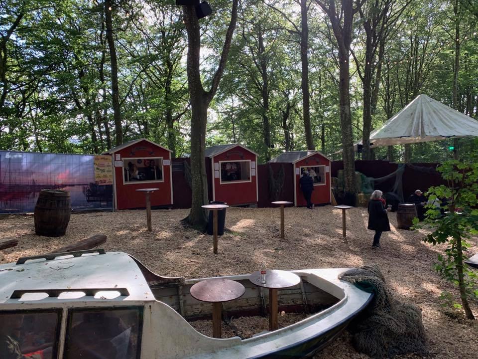 Markedsboder på Nibe festival